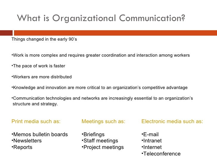 organizational communication for survival making work Long-term survival  how does communication contribute to decision making 4  theoretical perspectives for organizational communication 29 8.