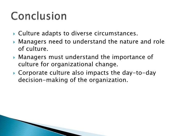 essay on organizational culture