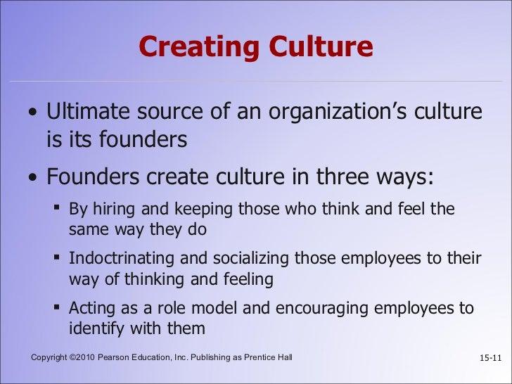 The organizational culture of quinlans essay