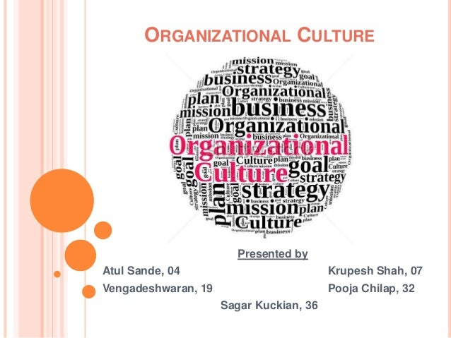 organisation culture The organizational culture inventory® (oci®) is the most widely-used and  thoroughly-researched tool for measuring organizational culture in the world.