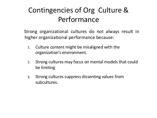 Org. Culture Vs Org. Climate • Culture refers to ideologies, values and norms as reflected in stories and symbols. We woul...