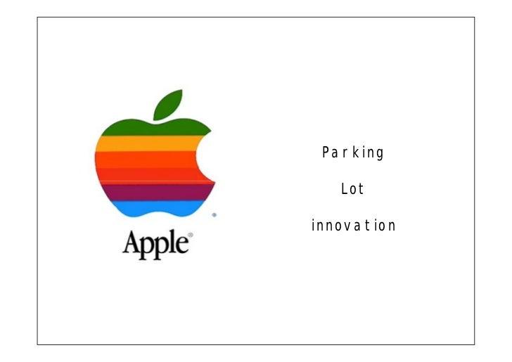 Parking     Lot  innovation