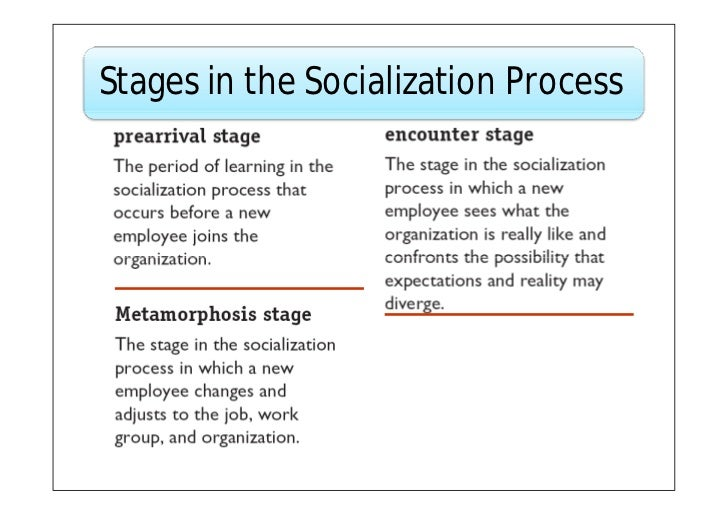 socialization process In order to understand the significance of the socialization process, the first thing you have to understand is that socialization is not a political, socially, or even spiritually neutral process socialization is not a political, socially, or even spiritually neutral process that is, the things you are a taught and the ways.