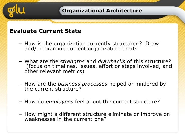Organizational Design And Assessment Overview And Process