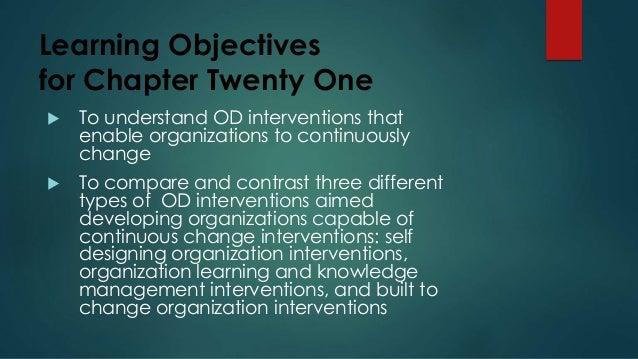 Organizational Developement Continuous Change