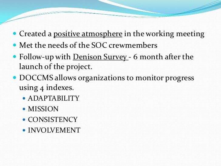 Organizational development case study