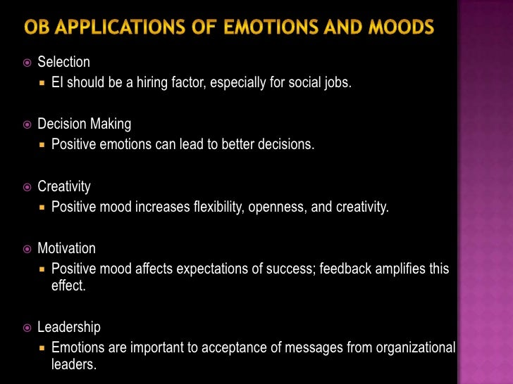 Emotions in the work place result in a series of problemsthat managers find themselves faced with in their workplace.Perso...