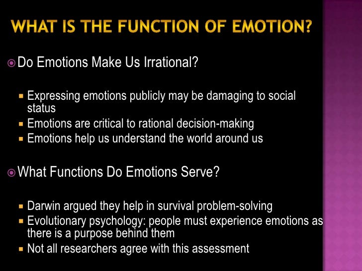 VARIETY: There have been numerous efforts to limit and define the fundamental or basic set of emotions.  Research has iden...
