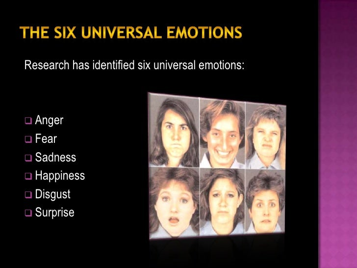 The closer any two emotions are to each other on the      continuum, the more likely people are to confuse them.Happiness ...