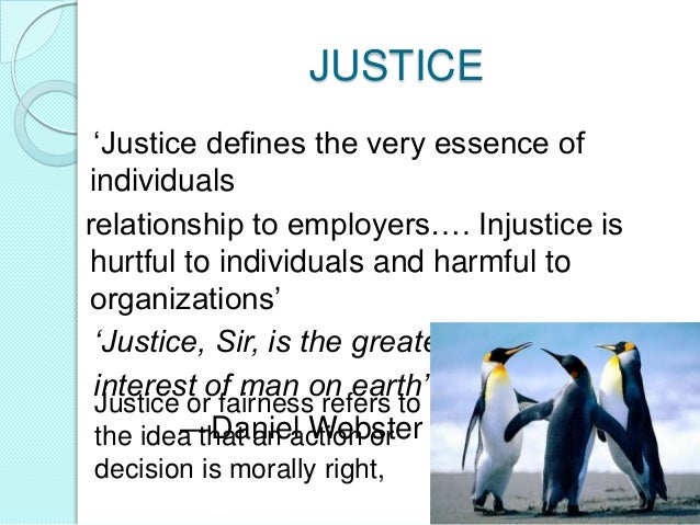 management of organizational justice Organizational justice present in management decisions about employees is  directly  justice perceptions to a variety of organizational outcomes, including  job.