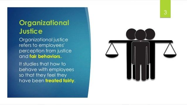 organizational injustice