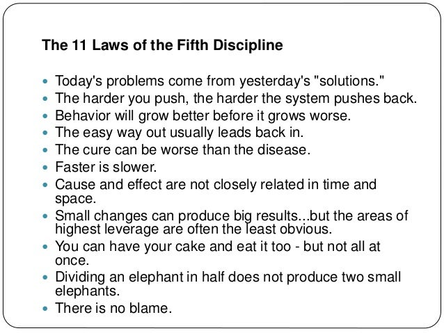 Solving Complex Problems with the 11 Laws of Systems Thinking