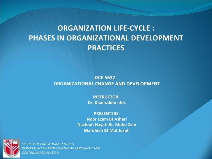 Organizational life cycle finalize (1)