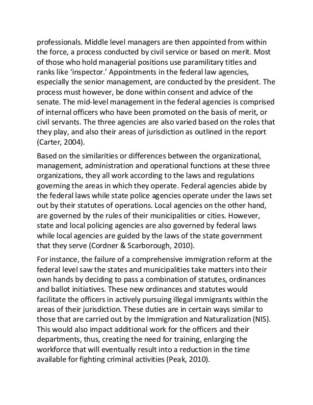 organizational effectiveness and operations management essay To enhance organizational effectiveness in the management of criminal justice personnel, it is essential for managers to understand by defining the concept of organizational effectiveness, apply the theories of organizational effectiveness, and use various methods of exerting control in an organizational setting.