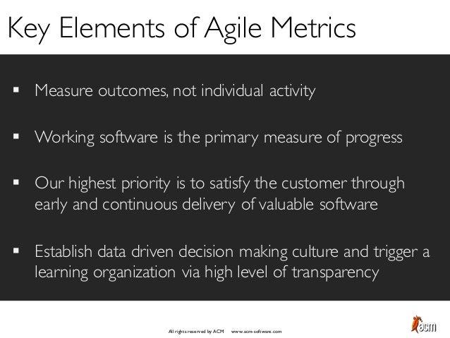 Agile Performance Metrics Slide 3