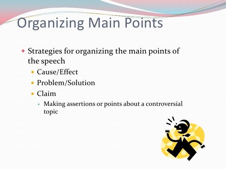 problem cause solution speech topics