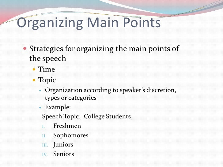 main points for a persuasive speech on adoption Persuasive speech ideas and smart narrowing down tactics including more than two hundred (including sample outlined main points) adoption affirmative action.