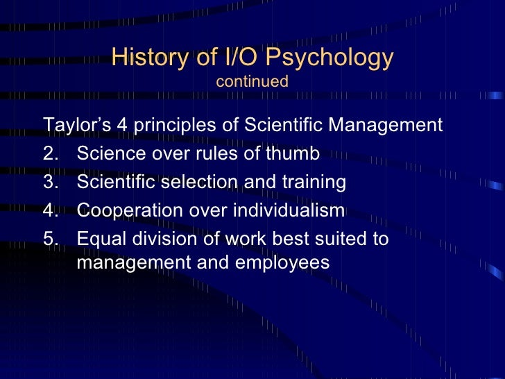 applying organizational psychology 2 Applying psychology more information from psychology, particularly industrial and organizational psychology you could benefit more from applying the.