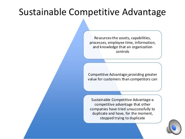 strategy for sustainable competitive advantage management essay Pdf | on mar 31, 2017, jumadi a and others published strategic  resources for sustainable competitive advantage.