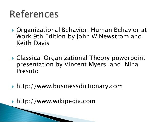organization behavior human behavior at work john w newstrom Organizational behavior: human behavior at work, 14e is a solid research-based and referenced text known for its very readable style and innovative pedagogy while minimizing technical jargon, john newstrom carefully blends theory with practice so that basic theories come to life in a realistic context.