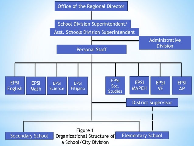 Organizational structure of the department of education fields offices