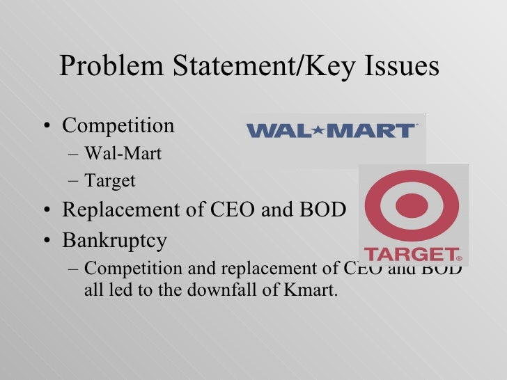 kmart organizational structure The strategic management  define organizational structure and controls and  borders sold the relatively small bookstore chain and inventory system to kmart.