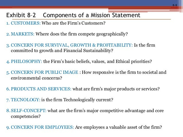 mission statement components - McMurry University