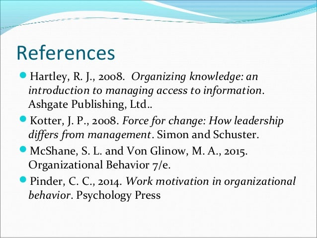 Organizational Behaviour Case Study Help