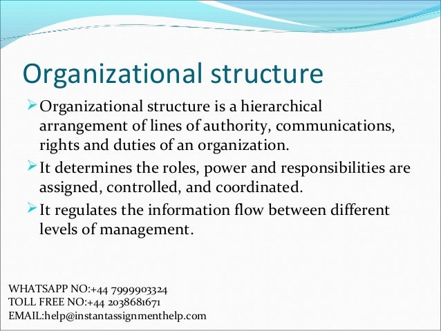 organizational behaviour assignment 2010-12-5 subject: management concepts and organizational behaviour subject code: mc-101 author: dr karam pal lesson no: 01 vetter: prof harbhajan bansal  2 11 introduction a business develops in course of time with complexities with increasing complexities managing the business has become a difficult task the need.