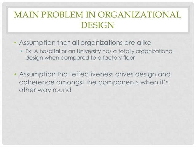 Organization design fashion or fit