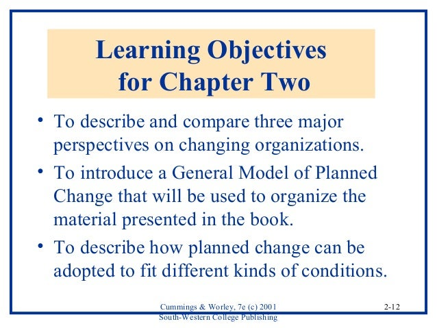 a discussion on the planned organizational change And fundamental issues in managing organizational change,  discussion 33 61 the maturity  comprehensive and strategically planned change management.