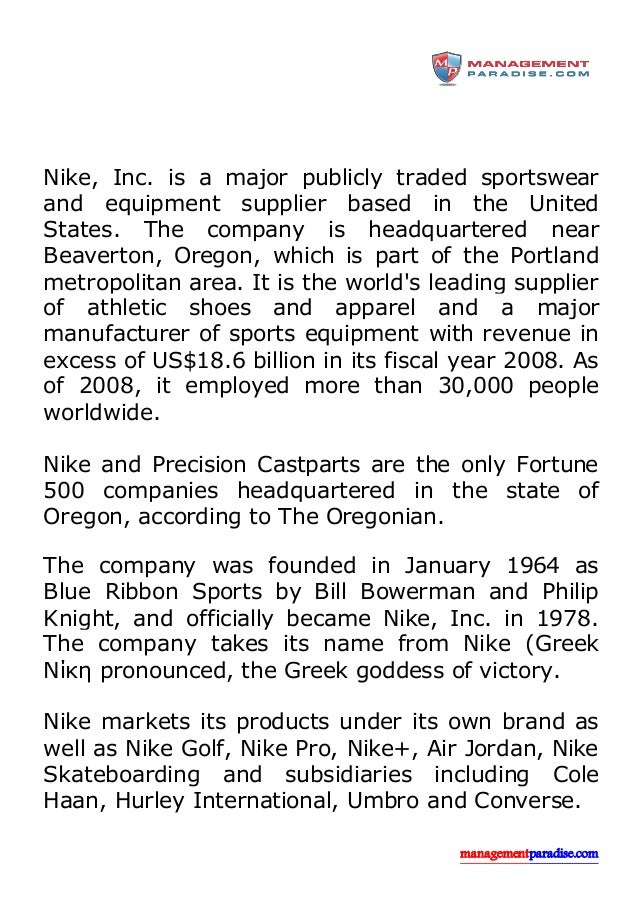 Complete Nike in Portland, Oregon locations and hours of operation. Nike opening and closing times for stores near by. Address, phone number, directions, and more.