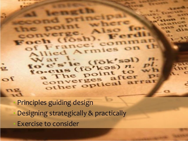 ORGANIZATIONSTRUCTURES  •Principles guiding design  •Designing strategically & practically  •Exercise to consider