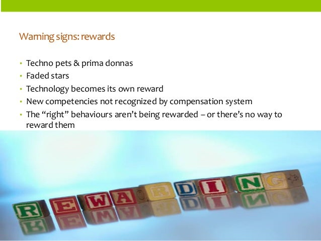 ORGANIZATIONSTRUCTURES  •Techno pets & prima donnas  •Faded stars  •Technology becomes its own reward  •New competencies n...