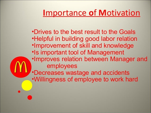 a discussion on the importance of mcdonalds Student self-administered case study timeless lessons that can help companies, says former mcdonald's exec paul facella (build relationships and cascade important information to workers and partners.