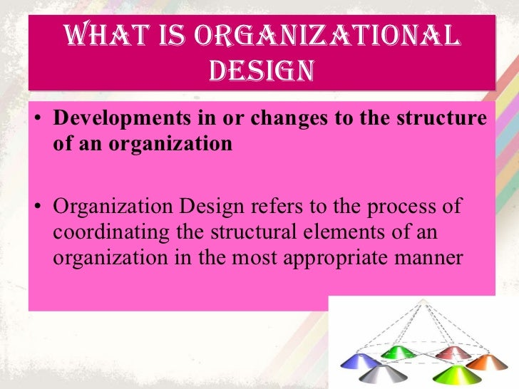 implementation of organization theory and design Including organization theory and design(south-western  2007), the  the  contemporary application of management ideas in organizations i have added.