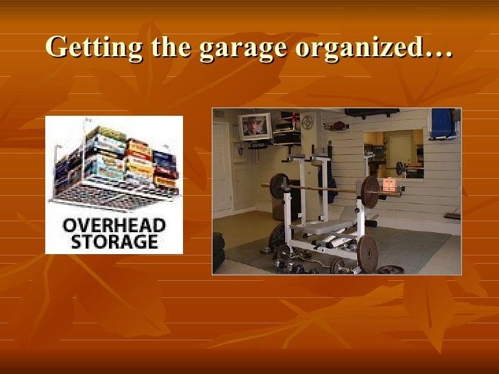 Organize Your Garage! Slide 3
