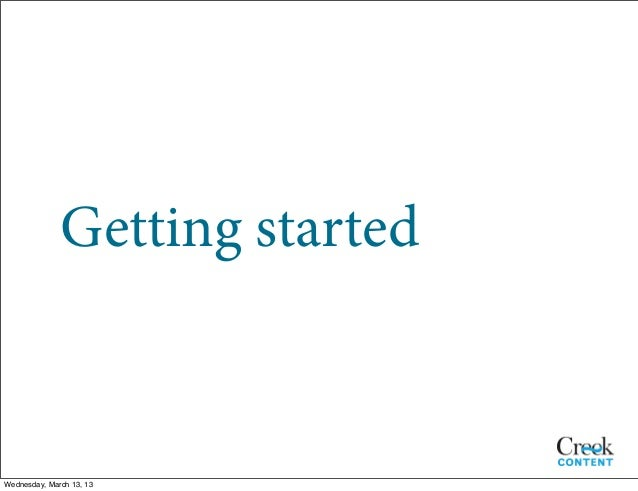 Organizing Your Content Plan Slide 2