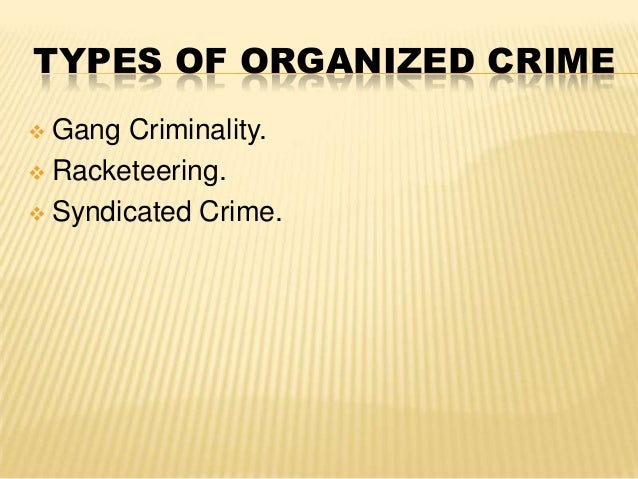 organized crime corporate crime A review of vincenzo ruggiero, organized and corporate crime in europe.