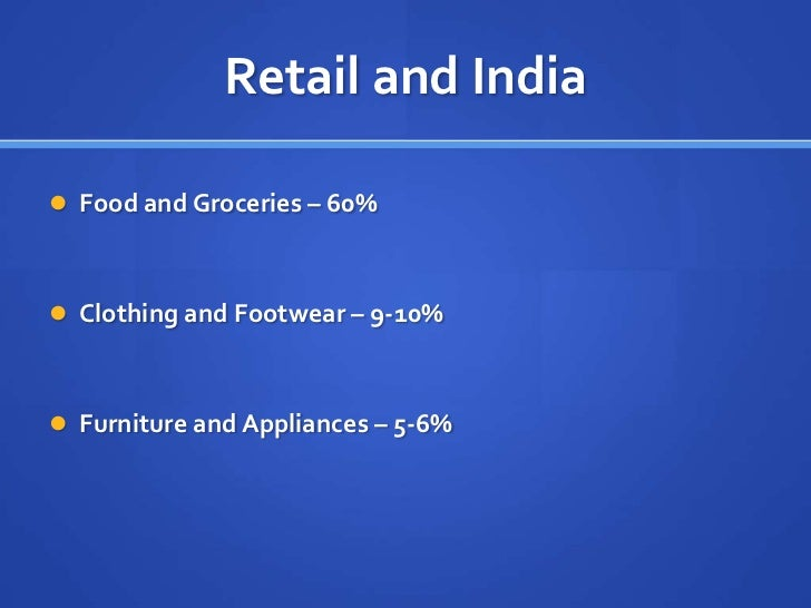 big bazar vs spencers Food retail chain and supermarket  evolution in india  evolution of food retail  (eg big bazaar, giant)  spencers is able to exercise.