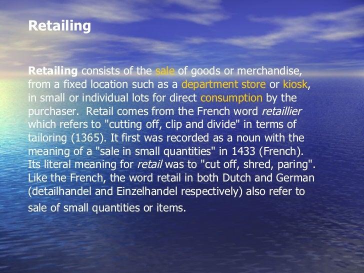 Organized vs unorganized retailing Slide 2