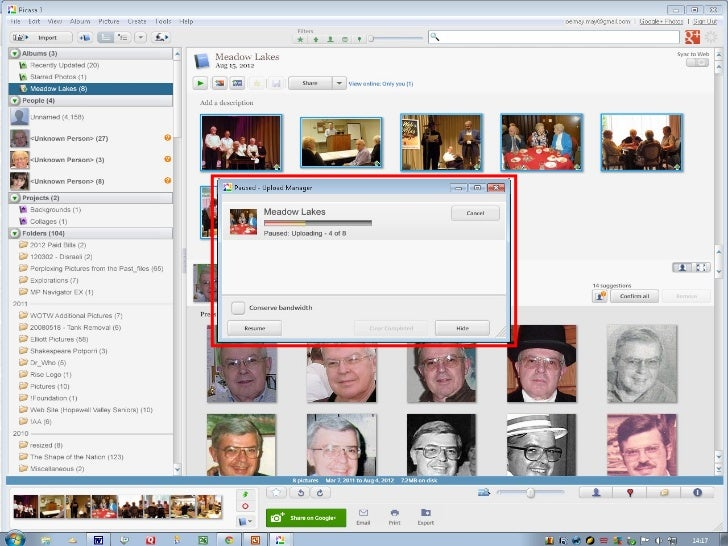 Organize, edit and share your photos