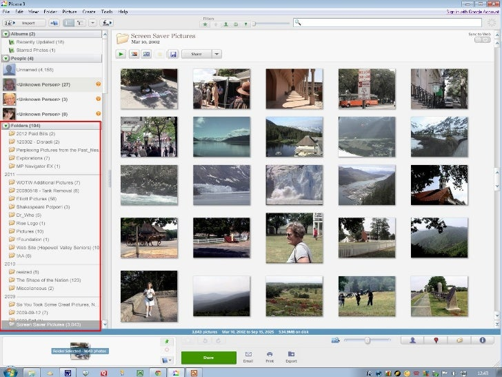 • To rename a group of photos, do  the following:  – Select the photo(s) you wish to rename.  – On the File Menu, Left-cli...