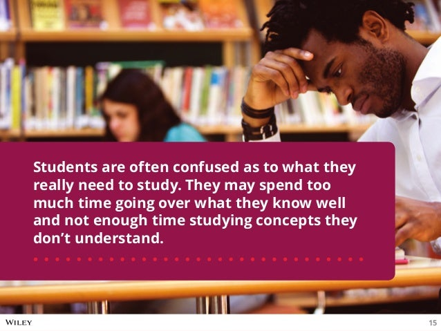 Students are often confused as to what they really need to study. They may spend too much time going over what they know w...