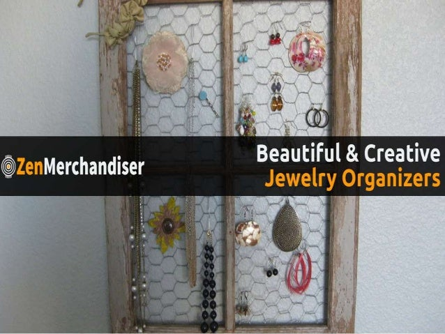 100 Beautiful Creative Jewelry Organizers