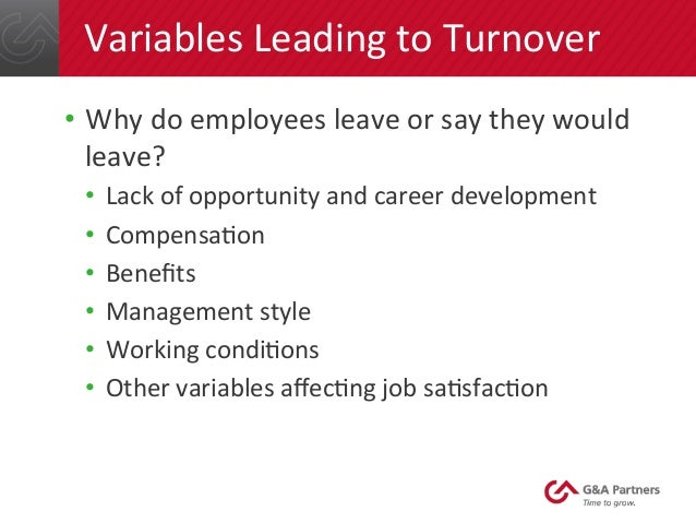 the understanding and controlling employee turnover Although, there is no standard framework for understanding the employees'   uncontrollable staff turnover refers to turnover which is outside the control of.