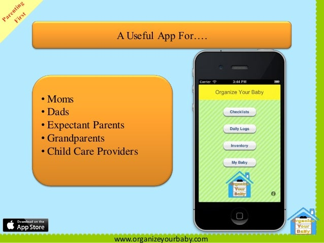 organize your baby iphone app helping you organize before and after