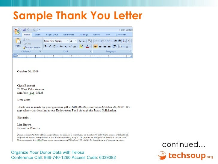 Sample donation letter in memory of someone fresh tax donation.