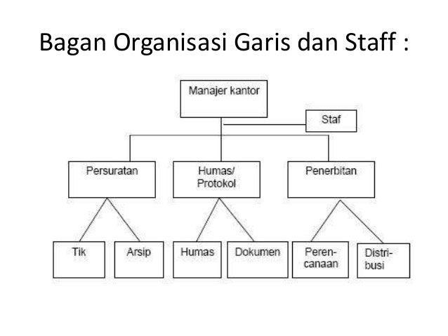 Struktur Organisasi Lini Staf Dan Fungsional - Berbagai ...