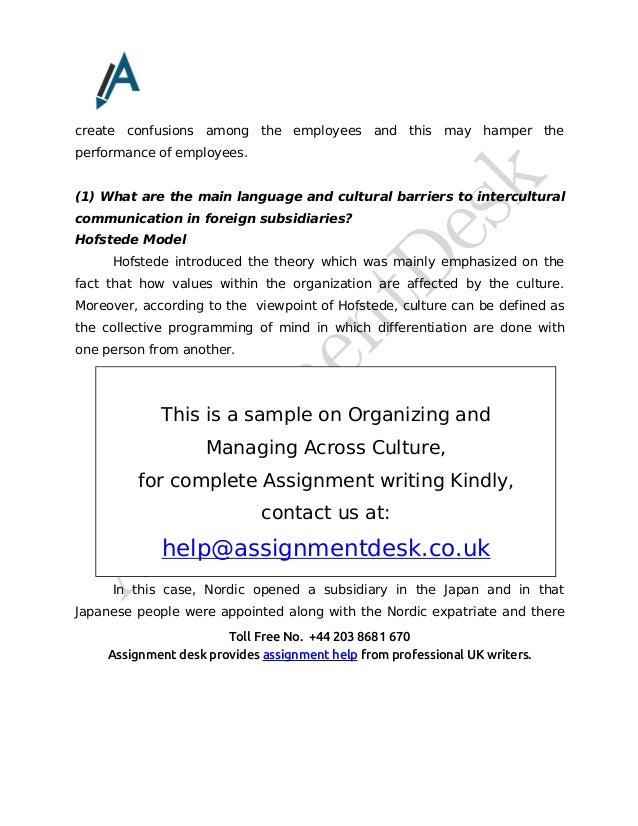 managing across culture Encuentra managing across cultures: concepts, policies and practices de mohamed branine (isbn: 9781849207294) en amazon envíos gratis a partir de 19.